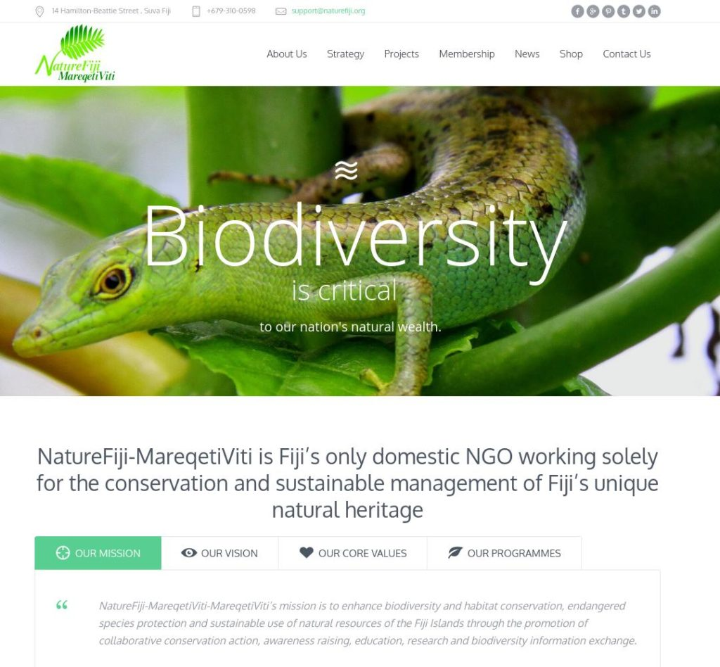 NatureFiji.org